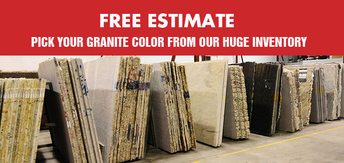 Materials used for marble and granite countertops in Toronto